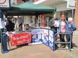 Image of the GVA Team at Gosport Market on Tuesday 6th June