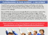 "Poster with a header featuring photos and contact details in a collage style, and the text: ""FUNDRAISING 5K RUN, SUNDAY 13 DECEMBER Loud & Proud is a group for young people in Gosport and Fareham, who help the community through volunteering, while building confidence and skills themselves. We carry out activities to raise awareness and money for charities, and are always on the lookout for new challenges. Due to COVID-19 it has become increasingly difficult for local charities to seek funding. Although we totally understand and agree the funding should go to bigger charities focusing on COVID, we are seeking to raise funds for the group to continue running in the new year. We would be very grateful if you could support us. No matter how little the donation is, it would be greatly received. Throughout this pandemic we have been actively supporting young people from being isolated and supporting their well-being. Thank you in advance for your support. Please contribute to one of the participants' personal fundraisers at: www.facebook.com/GosportVoluntaryAction/fundraisers "" Underneath the text is a photo of the group pointing upwards at the donation link."